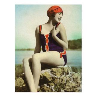 Baden der Schönheiten der Vergangenheit Postkarte
