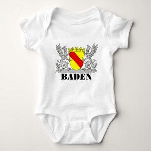 Baden Wappen mit Schrift Baden Baby Strampler 39745f7b24