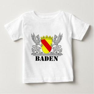 Baden Wappen mit Schrift Baden Baby T-shirt d4a7f1bbc7