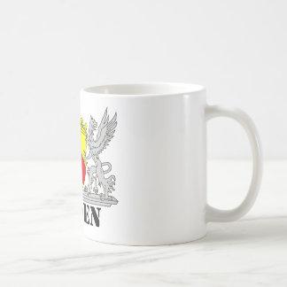 Baden Wappen mit Schrift Baden Kaffeetasse