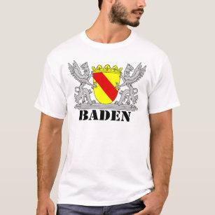 Baden Wappen mit Schrift Baden T-Shirt 7cac3a0477