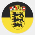 Baden-Württemberg Runder Aufkleber