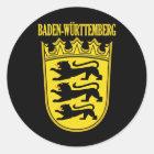 Baden-Wurttemberg Runder Aufkleber