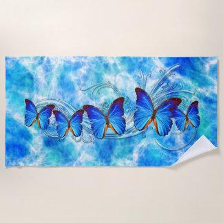 Badetuch der Schmetterlings-Kunst-37