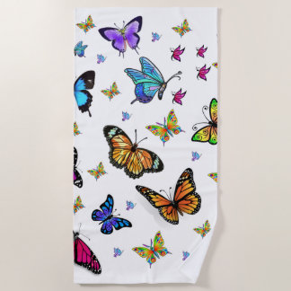 Badetücher Schmetterlinge Strandtuch