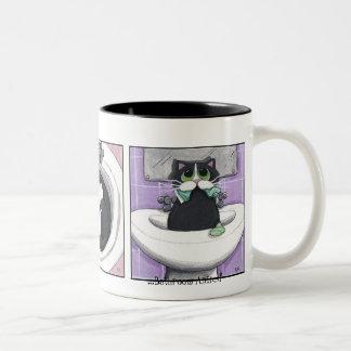 Badezimmer-Mätzchen #2 - Katzen-Tasse