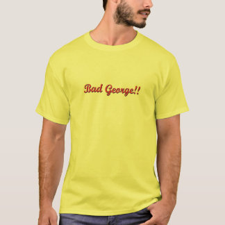 BadGeorge gelbe T T-Shirt