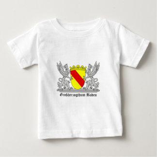 Badischer Greif mi Schrift Großherzogtum Baden Baby T-shirt