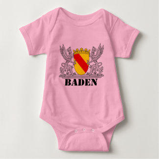 Badischer Greif mit Schrift Baden Baby Strampler