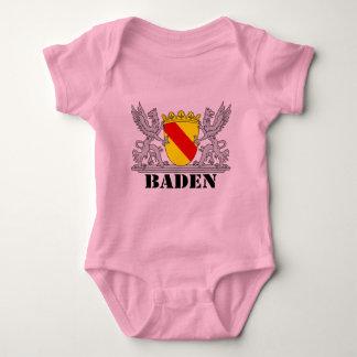 Badischer Greif mit Schrift Baden Babybody