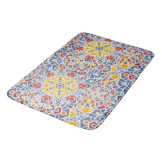 Badmatte mit Mandala-Blumenmuster-Druck Badematte