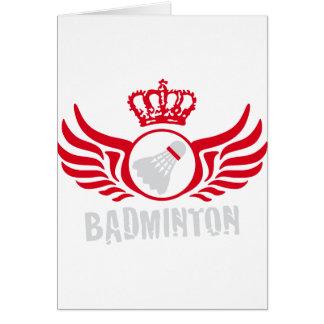 badminton karten