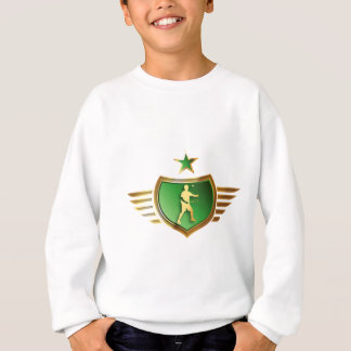 Badminton player sweatshirt