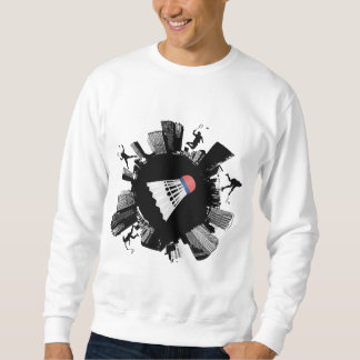 Badminton-Stadt Sweatshirt