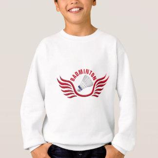badminton wings sweatshirt