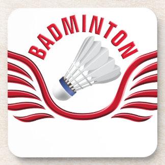 badminton wings untersetzer