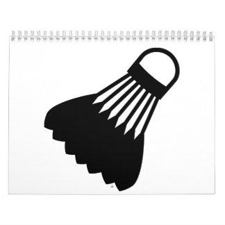 Badmintonsymbol Abreißkalender