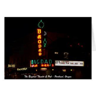 Bagdadtheater u. -Kneipe Karte