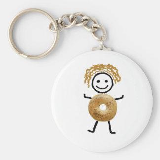 Bagel-Kind Schlüsselanhänger