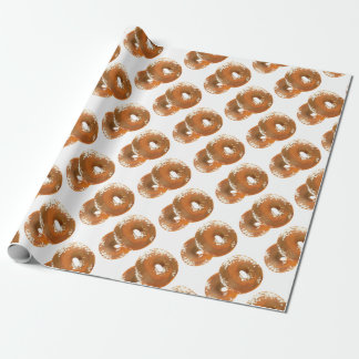 Bagel-leckere Nahrung Geschenkpapier