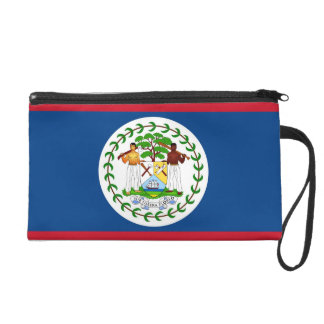 Bagettes Tasche mit Flagge von Belize