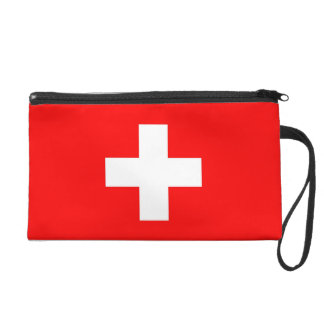 Bagettes Tasche mit Flagge von der Schweiz