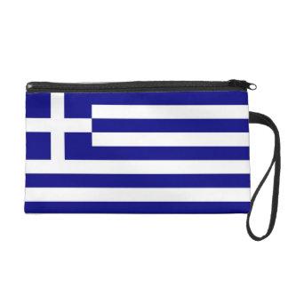 Bagettes Tasche mit Flagge von Griechenland