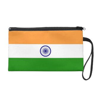 Bagettes Tasche mit Flagge von Indien