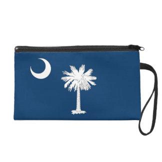 Bagettes Tasche mit Flagge von South Carolina, USA