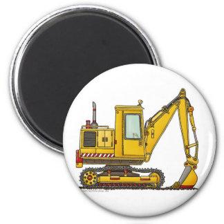 Baggerschaufel-Bau-Magneten Runder Magnet 5,1 Cm