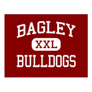 Bagley - Bulldoggen - Jüngeres - Dora Alabama Postkarte