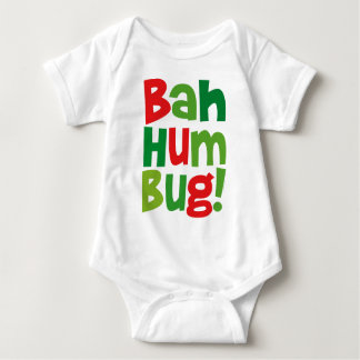 Bah Humbug Baby Strampler