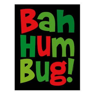 Bah Humbug Postkarte
