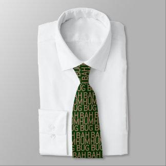 Bah Humbug-Schneeflocke-Krawatte Krawatte