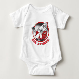 Bah Humbug! - Scrooge Weihnachtsmann Baby Strampler