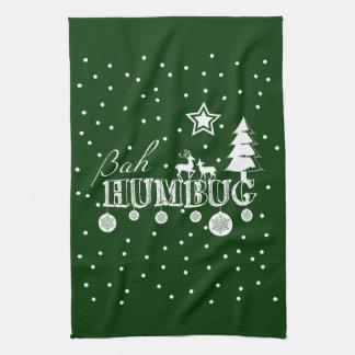 Bah Humbug, Weihnachten Geschirrtuch