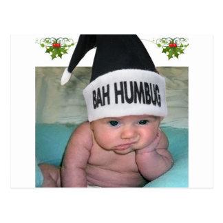 Bah Humbug-Weihnachten ist zum Kotzen!! Postkarte