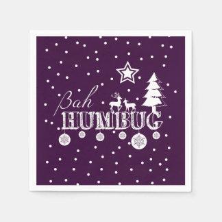 Bah Humbug-Weihnachten Serviette