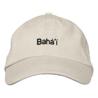 Bahá'í Bestickte Baseballkappe