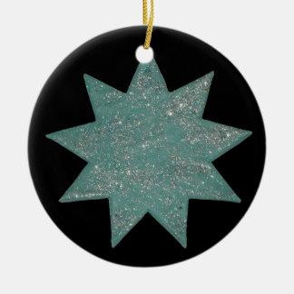 Bahá'í Stern Keramik Ornament