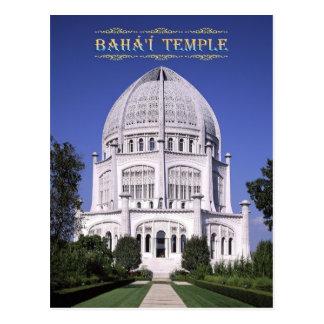 Baha'i Tempel, Wilmette, Illinois Postkarte