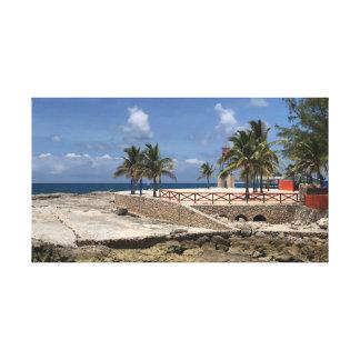 Bahama Mutter Leinwanddruck