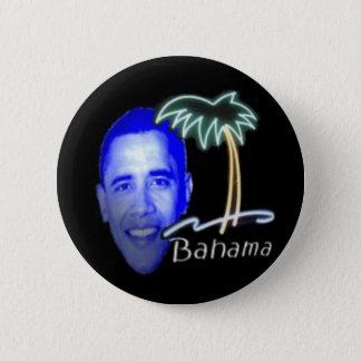 Bahama Obama Runder Button 5,1 Cm