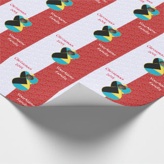 Bahaman Engels-Flaggen-Dunkelheit Geschenkpapier