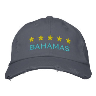 BAHAMAS - 001 BESTICKTE BASEBALLKAPPE