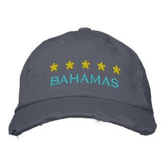 BAHAMAS - 001 BESTICKTE BASEBALLMÜTZEN