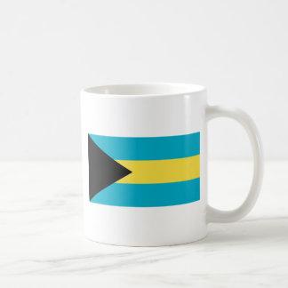 Bahamas-Flagge Kaffeetasse