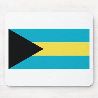 Bahamas-Flagge Mousepad