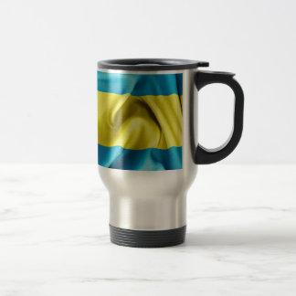 Bahamas-Flagge Reisebecher