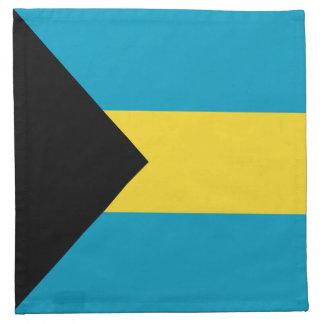 Bahamas-Flaggen-Serviette Stoffserviette